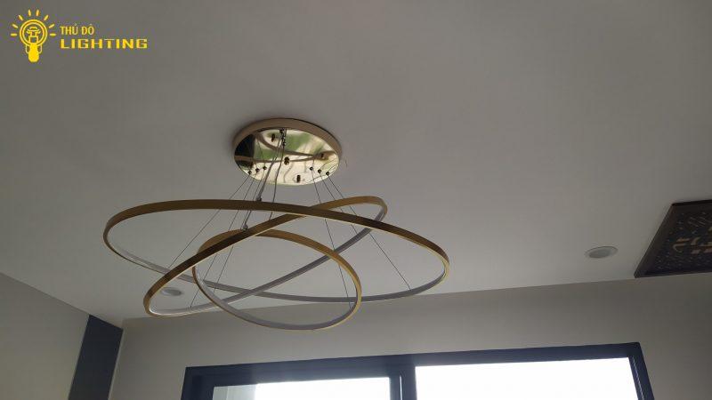 đèn thả led 3 vòng