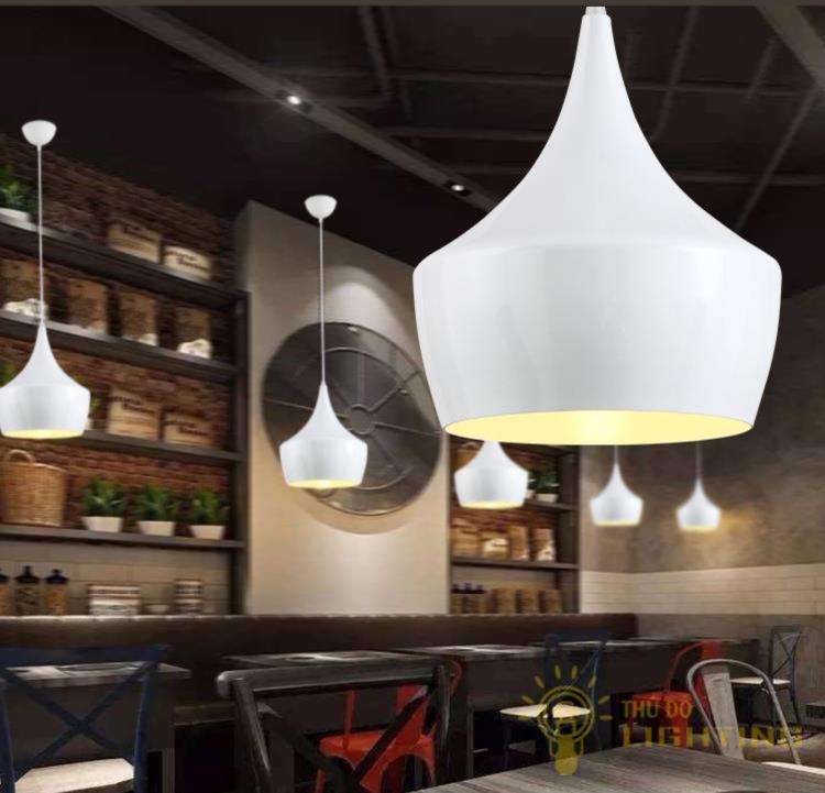 đèn thả trang trí quán cafe