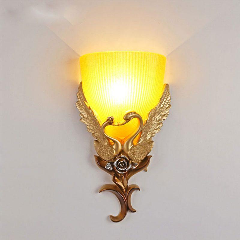 đèn trang trí phòng ngủ treo tường