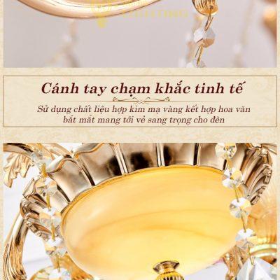 đèn chùm tân cổ điển Hoa Đăng