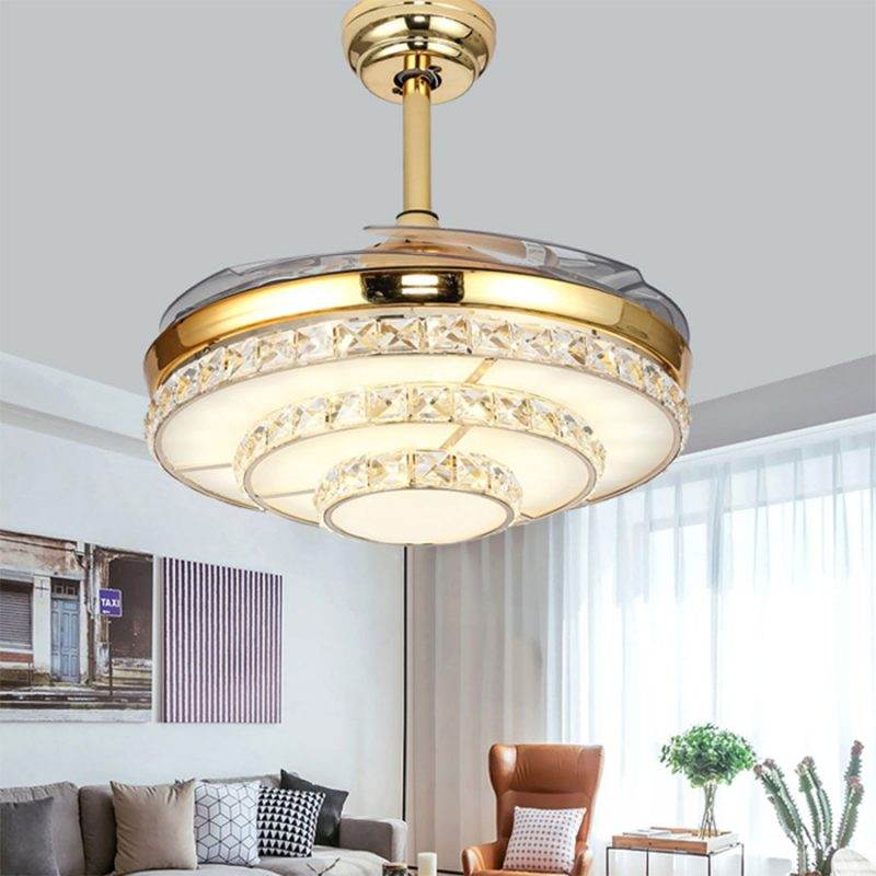 quạt trần đèn hiện đại