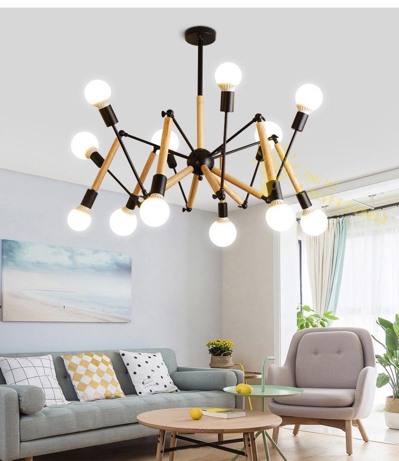 đèn chùm hiện đại