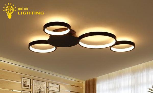 đèn mâm LED tròn