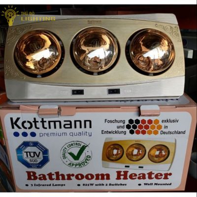 Đèn sưởi 3 bóng Kottmann (Cái)
