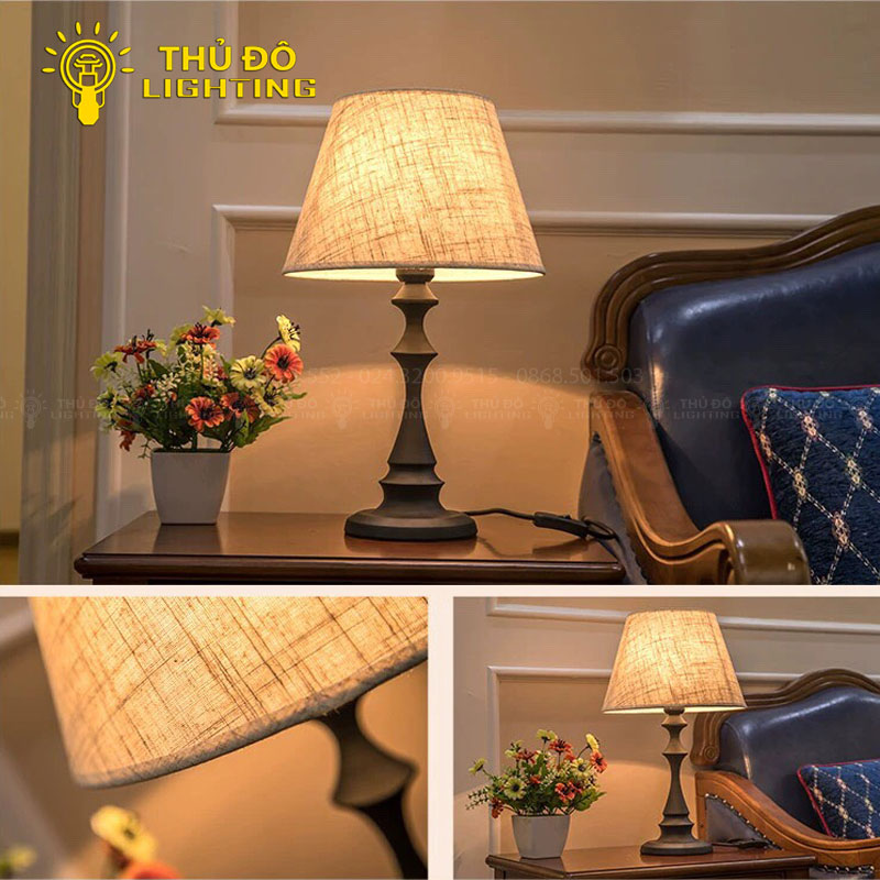 Thông tin chi tiết đèn bàn gỗ YJ01