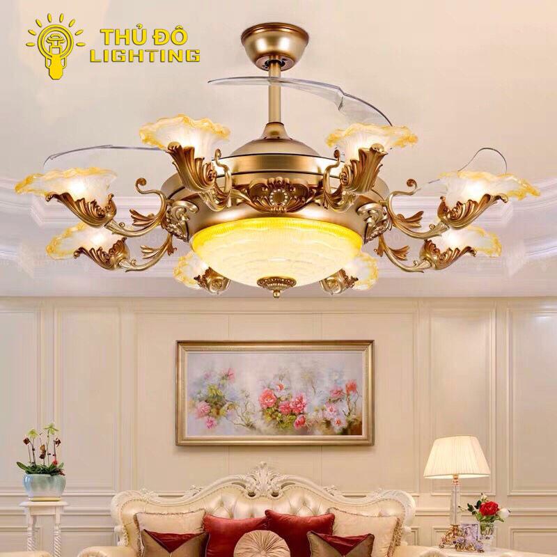 Vì sao lại gọi quạt trần đèn 9668-8 là 1 chiếc quạt trần đặc biệt?